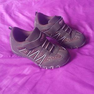 🎶Air Balance brown & pink girls size 13 shoes